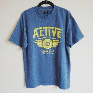 Active cotton t-shirt medium